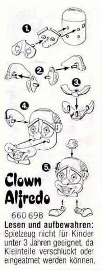 lustige clown spardosen eierwiki das wiki rund ums ei. Black Bedroom Furniture Sets. Home Design Ideas